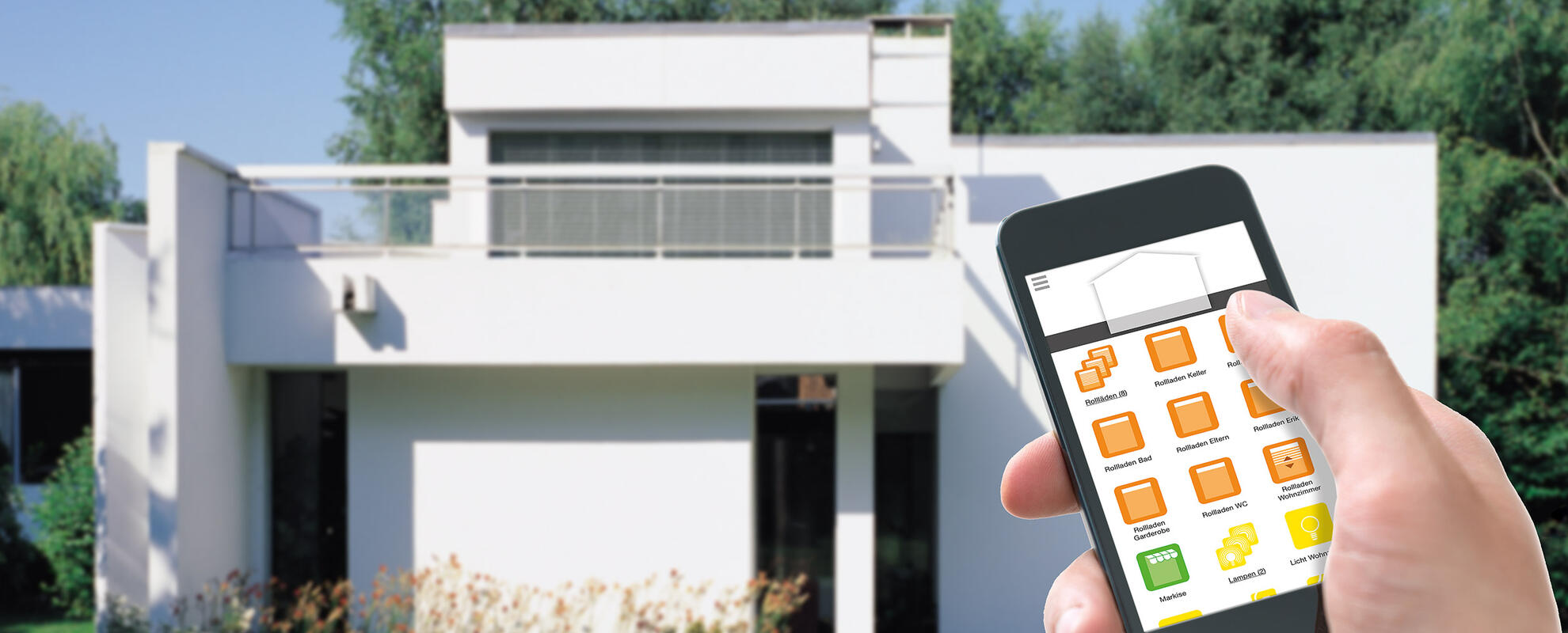 Somfy Smart Home Header